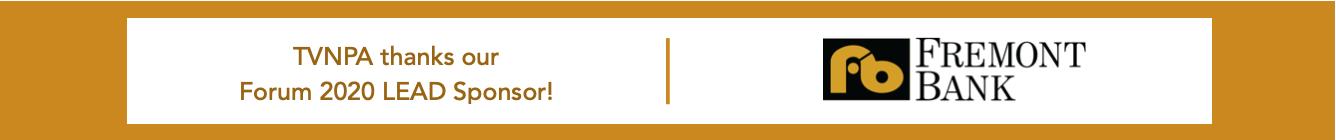 TVNPA Forum 2020 LEAD Sponsor