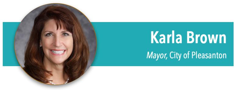 TVNPA About Mayor Karla Brown Pleasanton CA