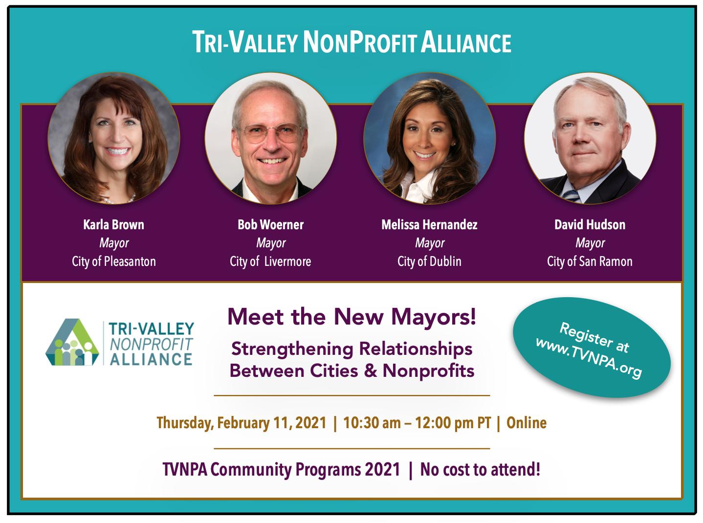 TVNPA Community Program Meet the New Mayors