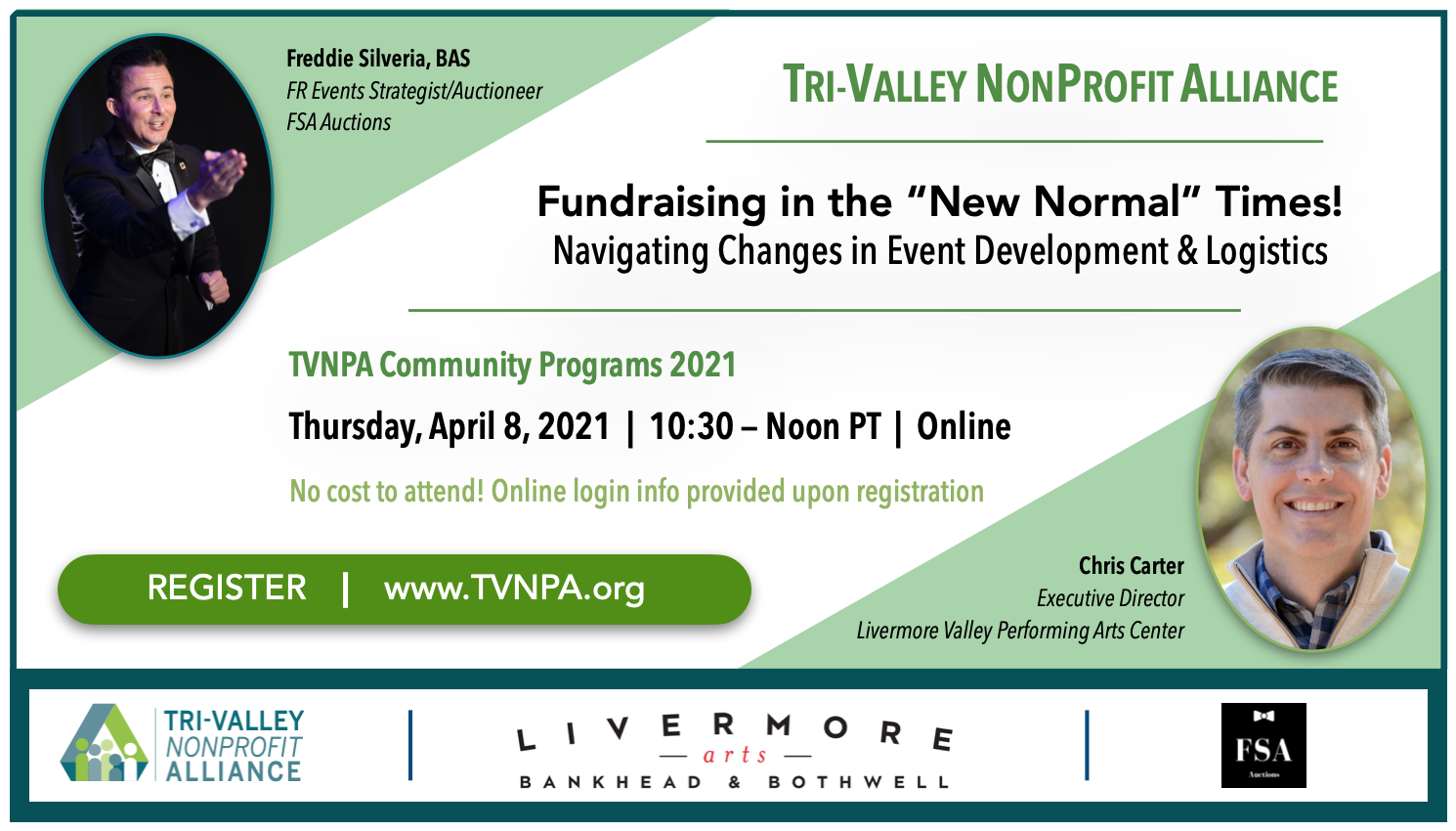 Register for TVNPA Fundraising in the New Normal Times