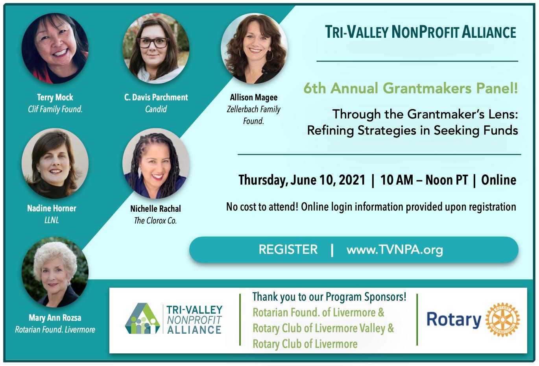 TVNPA Grantmakers Panel 2021